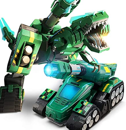 Siyushop Transforming Toy, Robot Toy, Carro Armato a