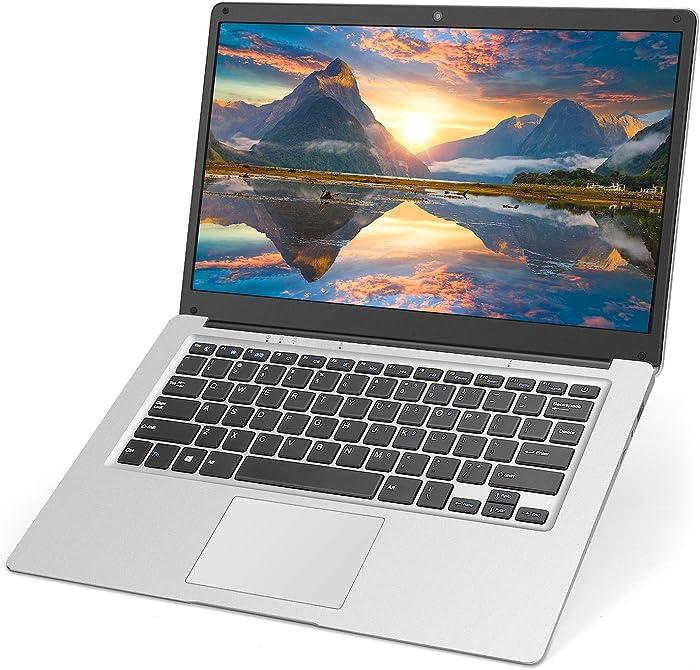 14 inch Laptop Notebook Computer PC, Windows 10 Home OS Intel CPU 4GB RAM 64GB Storage, WiFi Mini HDMI BT4.0