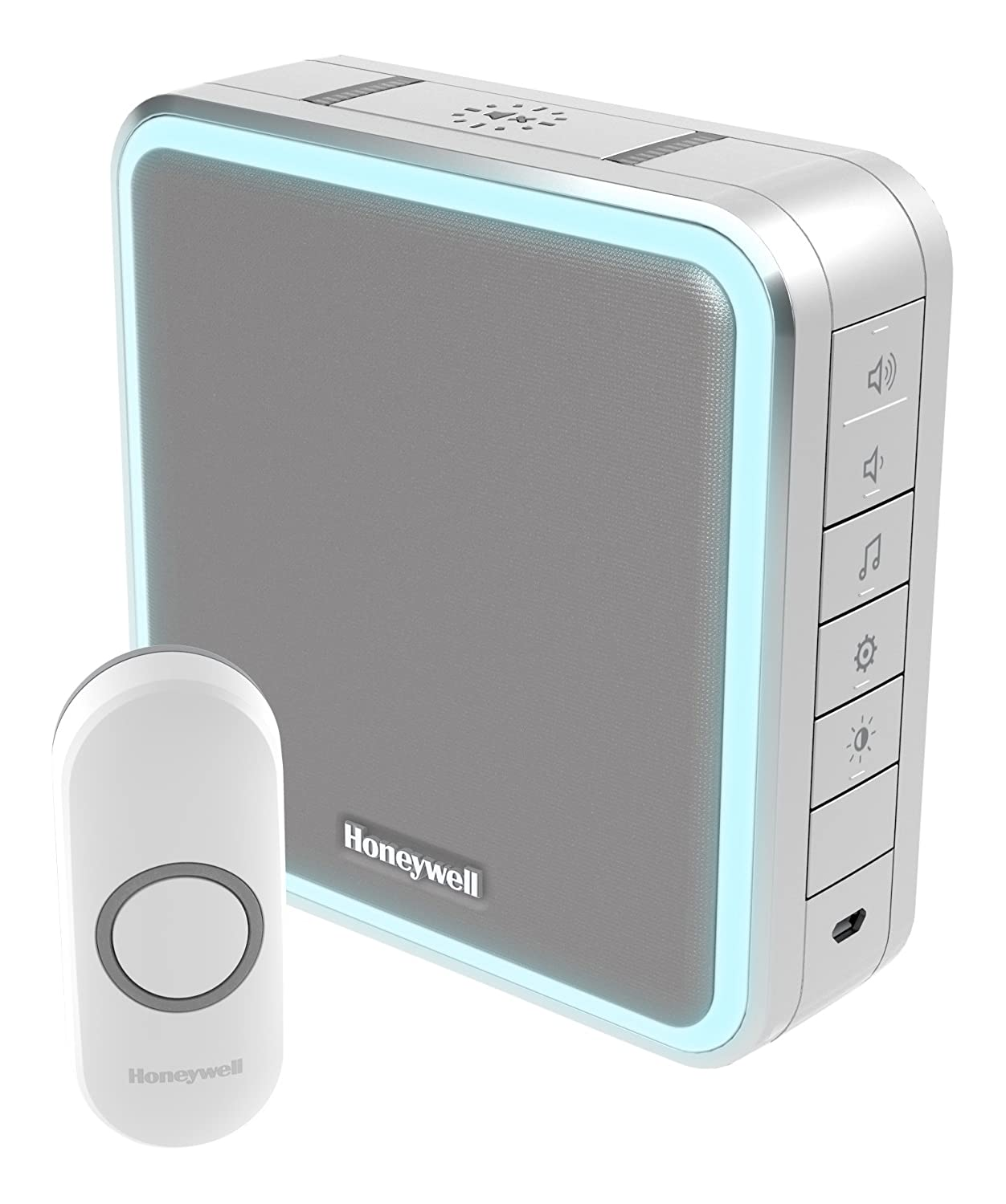 Honeywell DC915NG 200 m 9 Series LED Doorbell - Grey