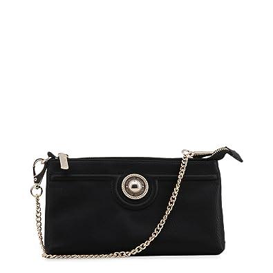 919f84831d7d Versace Jeans Mia Black Mini Cross-Body Bag Black Leather  Amazon.co ...