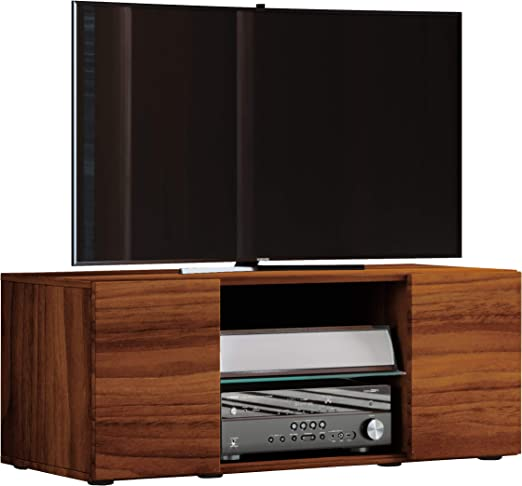 VCM lowina 95 – Mueble TV, Madera, corazón de Nogal, 40 x 95 x 36 cm: Amazon.es: Hogar