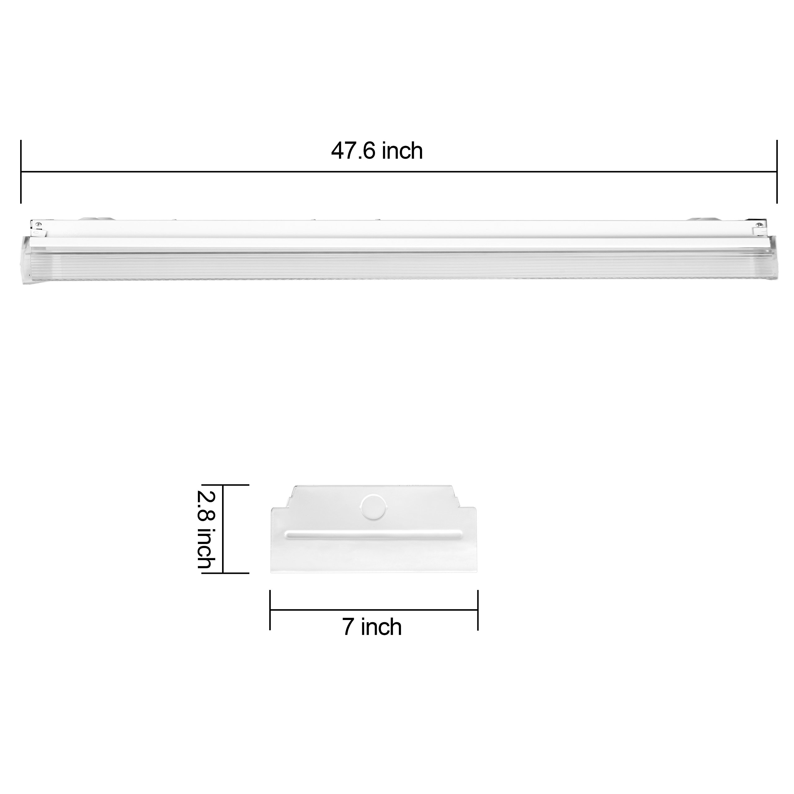 Replace Garage Lights: AntLux 4ft LED Garage Shop Lights, LED