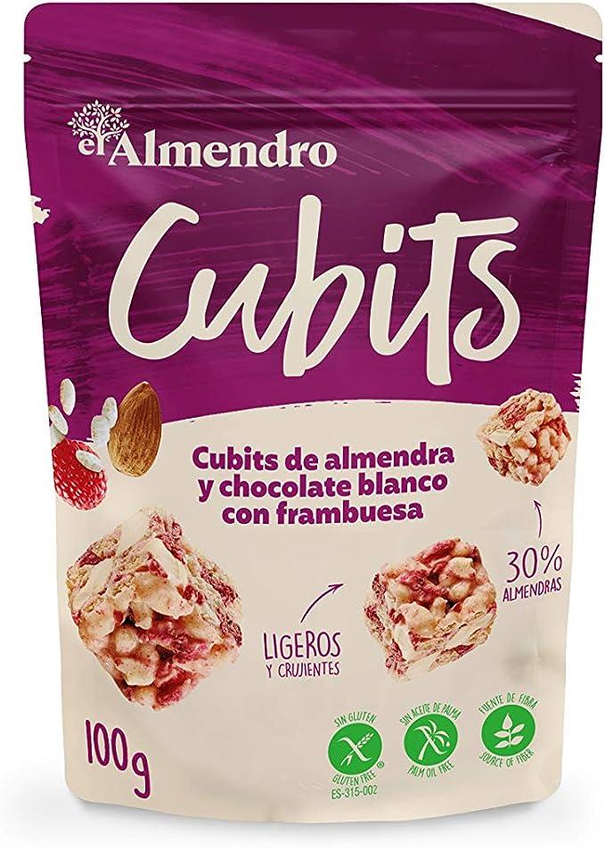 El Almendro - Cubits de Almendra, Chocolate Blanco y Frambuesa ...