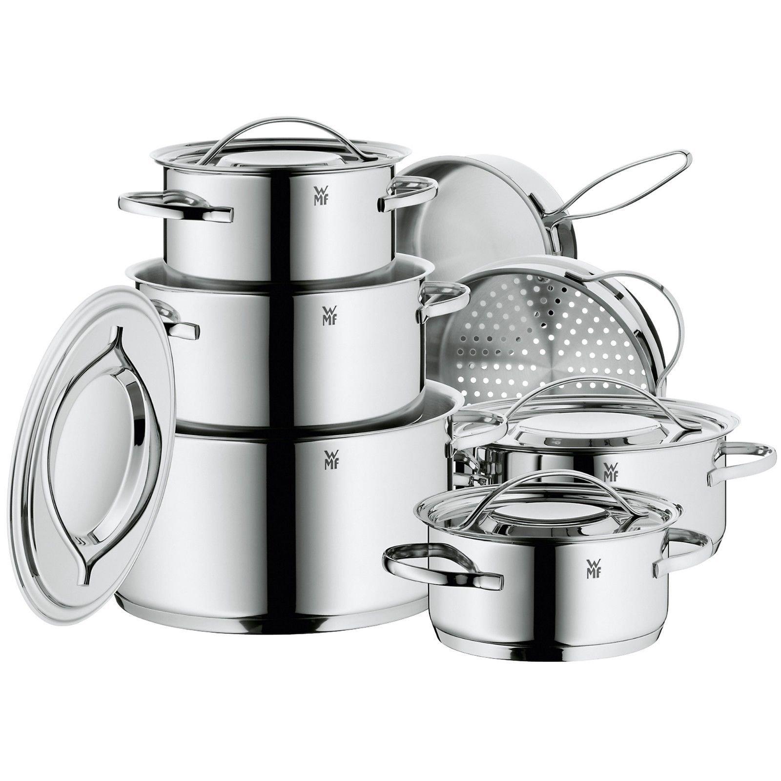 WMF Gala II 12-Piece Cookware Set
