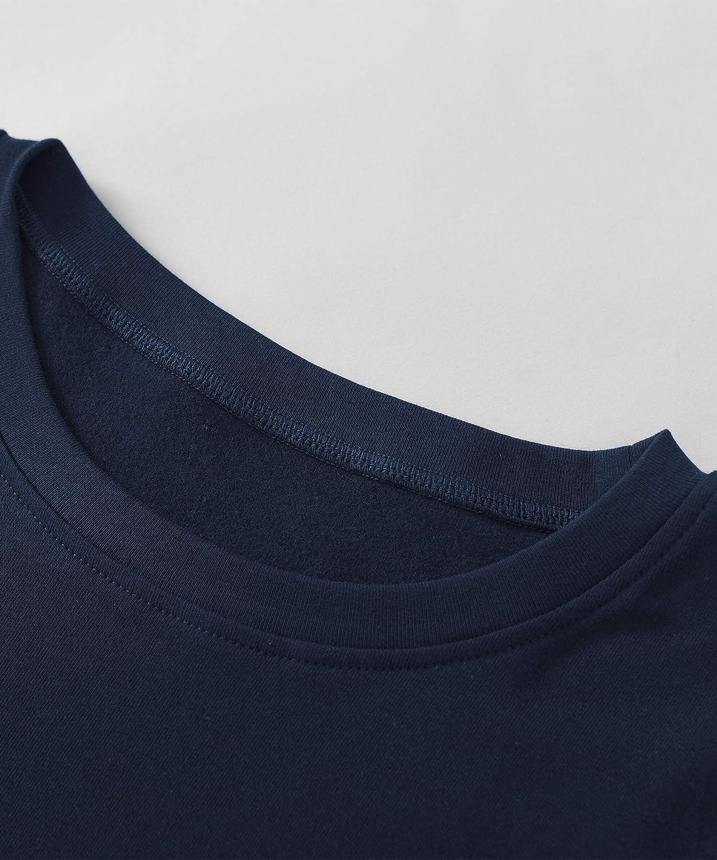 Latuza Womens Cotton Long Johns Fleece Lined Thermal Underwear