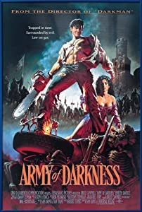 Army Of Darkness - Framed Movie Poster (Regular - Evil Dead 3) (Size: 24 x 36 inches)