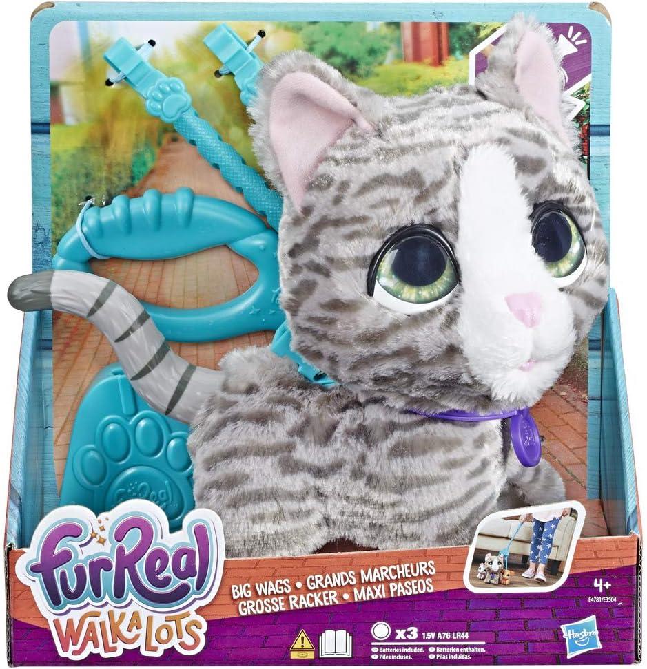 Furreal Friends- Mascotas Walkalots Gato Grande (Hasbro E4781ES0)