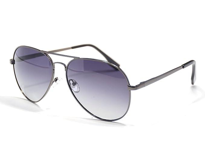 Jee Gafas de sol hombre mujer aviator aviador 3025(oro, azul hielo ...