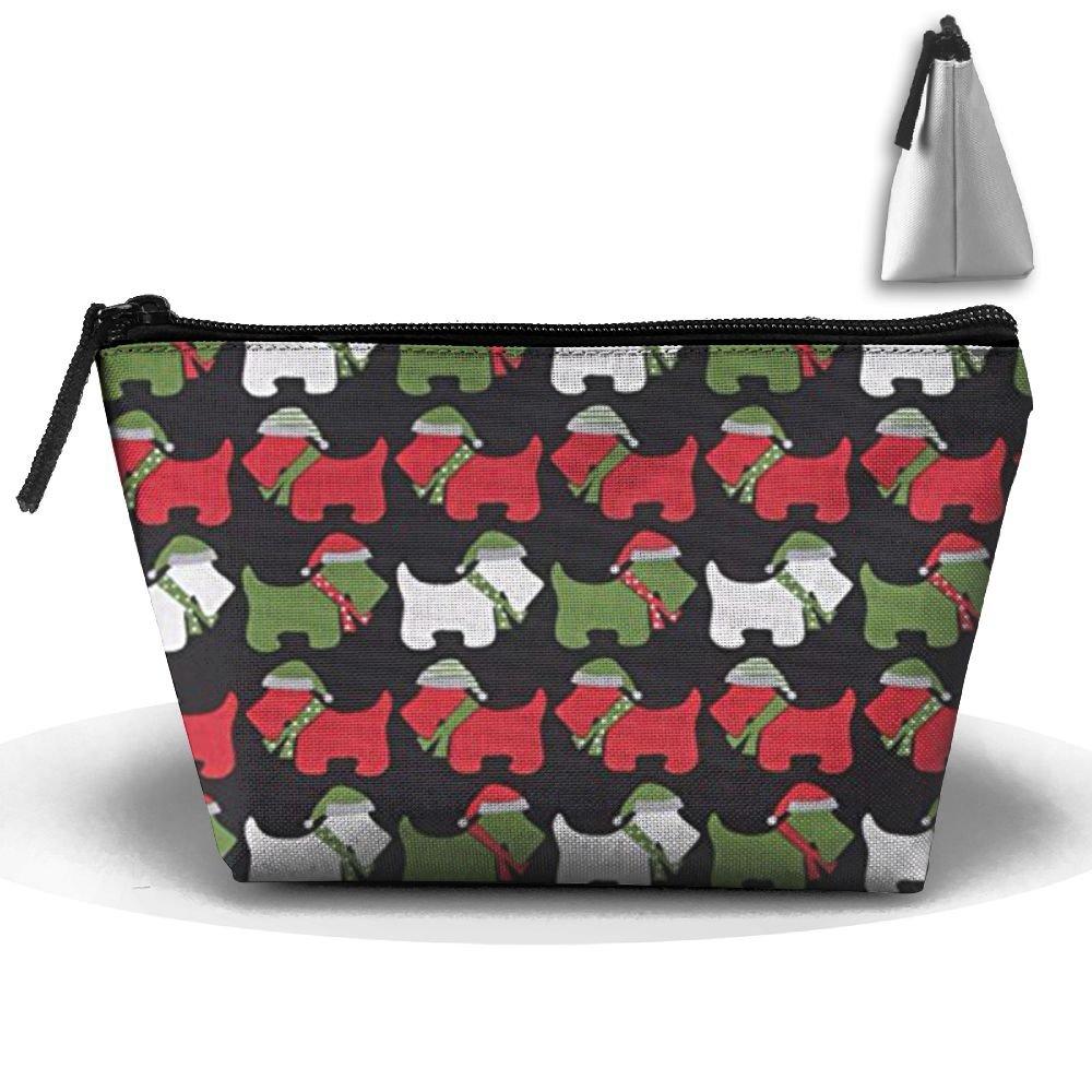 1f43ba10fe01 on sale CHC40 Jingle Scottie Dogs Black Cosmetic Bag
