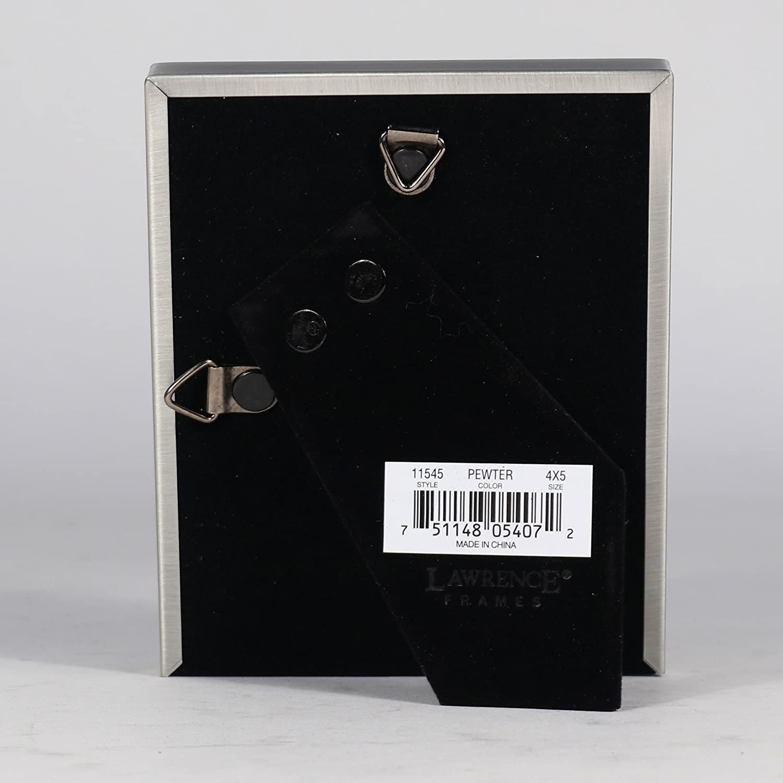 Amazon.de: Lawrence Frames Antik Zinn 4 x 5 Bilderrahmen - Bead ...