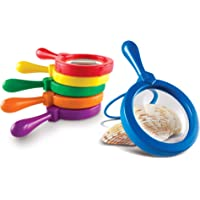"""Learning Resources LER2774 Jumbo Magnifier Set Of 6,Multi,6.7"""" x 8"""""""