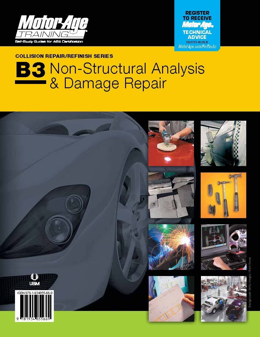 Download ASE B3 Study Guide 2nd Edition - Paint & Refinishing Certification (Motor Age Training) pdf