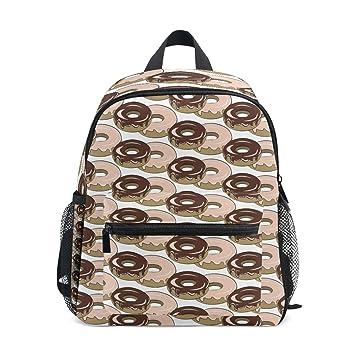 Mochilas para niños Doughnut Chocolates School Bag Daypack para niños y niñas: Amazon.es: Hogar