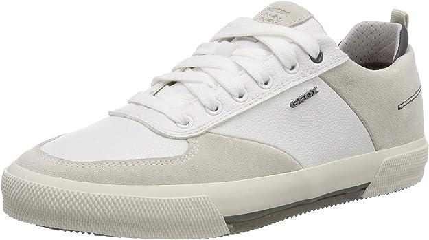 Geox U Kaven A Sneaker Herren Weiß