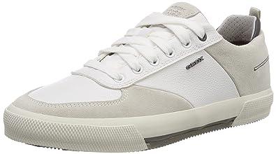 come trovare sulle immagini di piedi di famoso marchio di stilisti Geox U Kaven A, Scarpe da Ginnastica Basse Uomo
