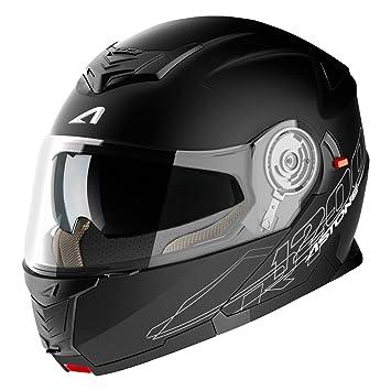 Astone Helmets, Casco, color Negro Mate, talla M