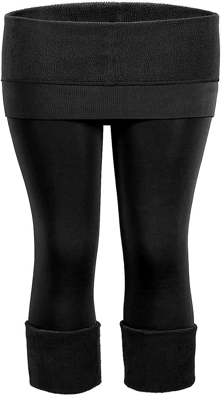 Women Super Thick Velvet Wool Trousers Solid Color Leggings Ladies Winter Plush Warm High Waist Elastic Slim Pants