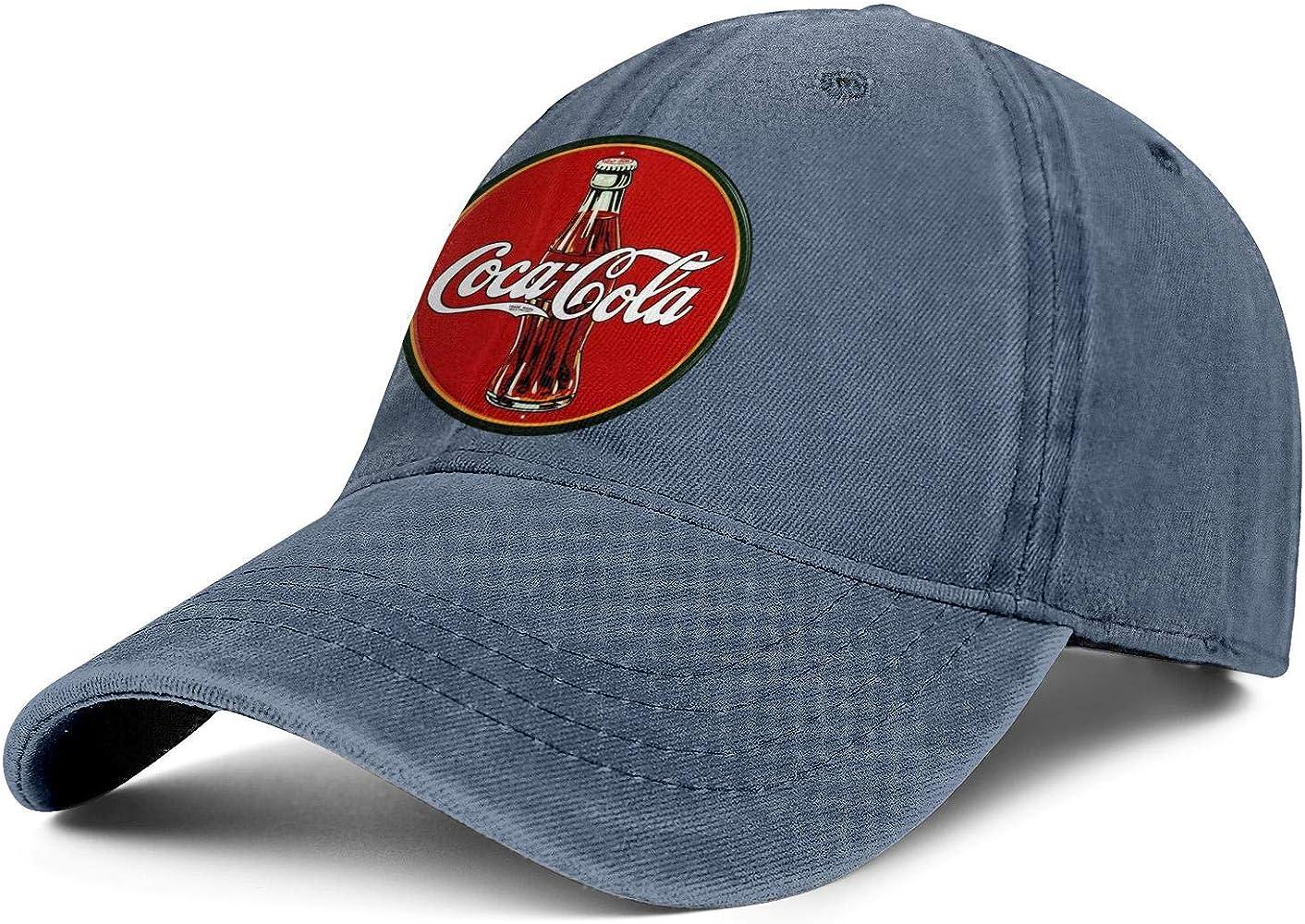 Coca Cola - Gorra de Vaquero con Logo Antiguo, Talla única, para ...