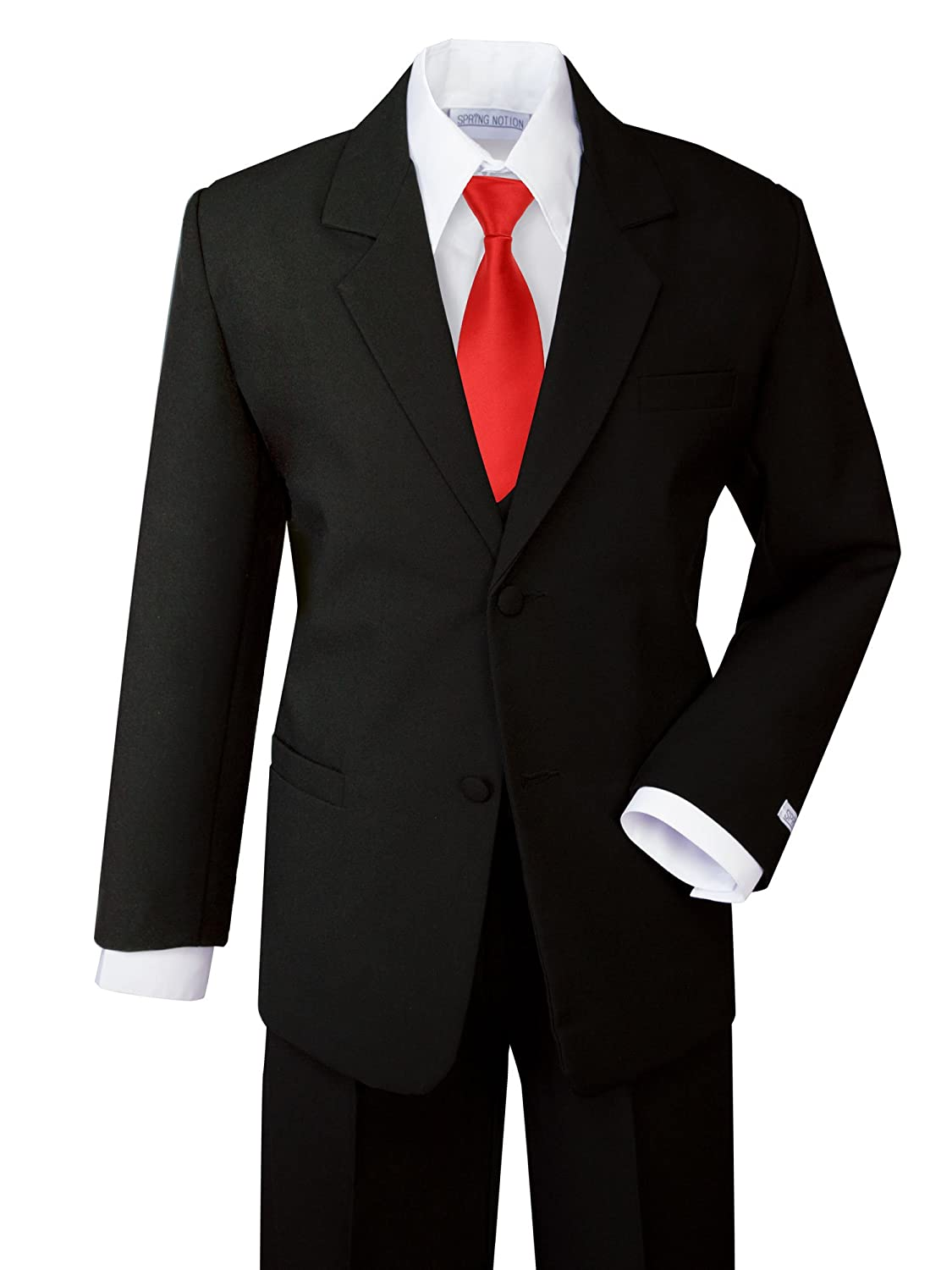 Spring Notion Boys Classic Fit Formal Dress Suit Set