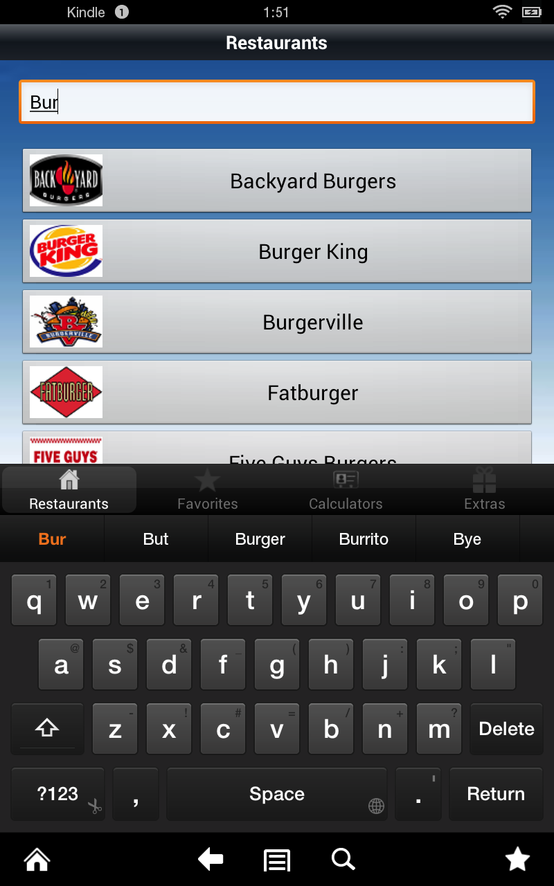 amazon com smart food score calculator with fast food nutrition