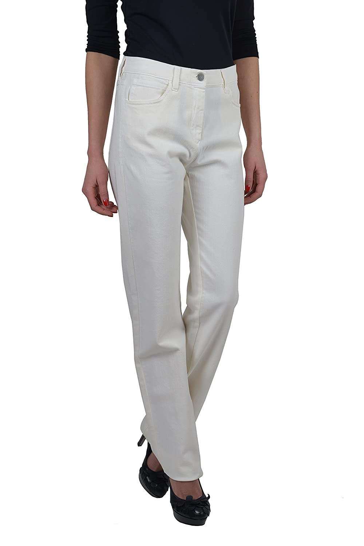 Maison Martin Margiela MM6 Womens White Jeans US 6 IT 42