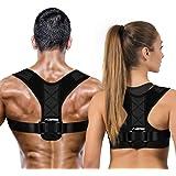 LUDTOM Posture Corrector For Men and Women, Upper Back Posture Brace for Clavicle Support, Adjustable Back Straightener, Prov