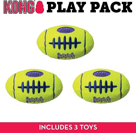 Kong Air Dog Squeaker - Pelota de fútbol para Perro, tamaño Grande ...