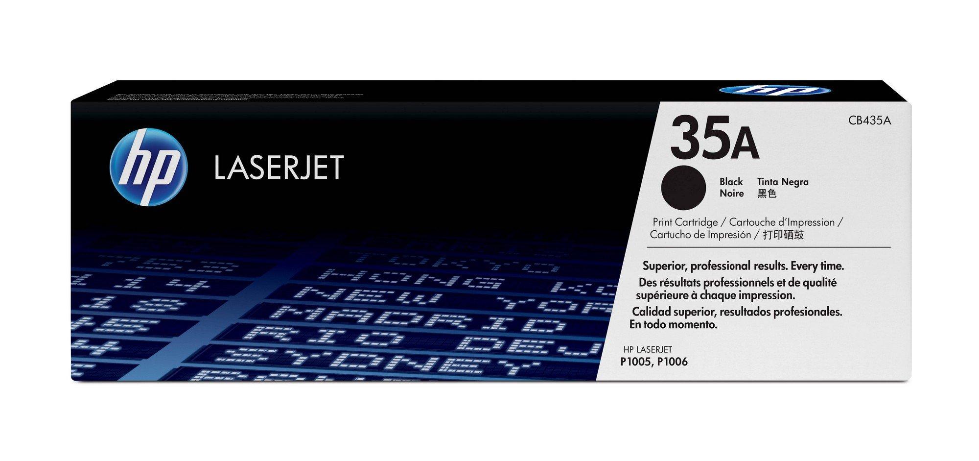HP 35A (CB435A) Black Original Toner Cartridge