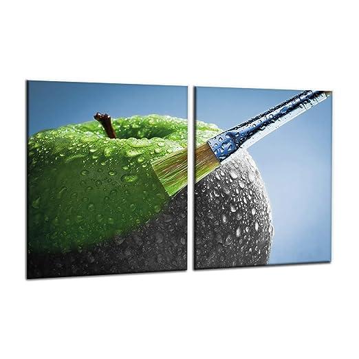 Compra decorwelt | para cubrir la vitrocerámica verde ...