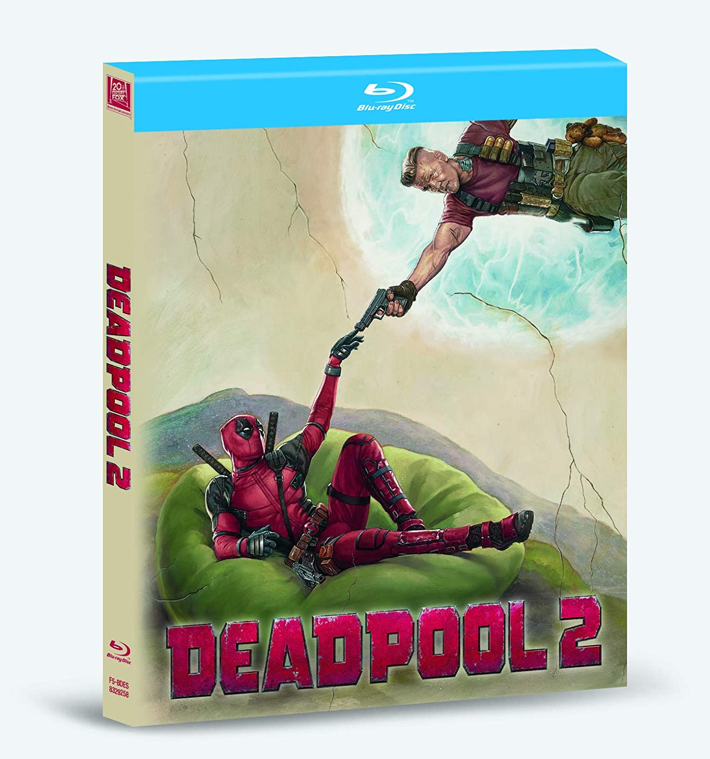 Deadpool 2 Versión Super $@%!# Grande Blu-Ray Digibook Blu ...