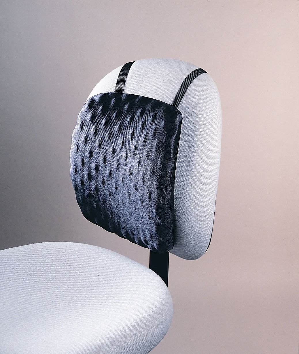 Kensington HalfBack Pad,  Chair Pad for Spine Comfort and Support, in Black (L82021B)