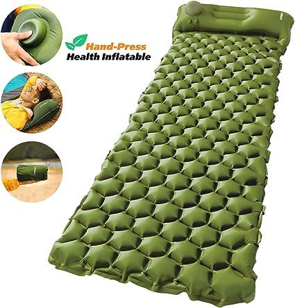 Amazon.com: AirExpect - Colchoneta hinchable para camping ...