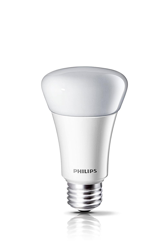 Philips 425256 8 watt 40 watt a19 led household daylight light philips 425256 8 watt 40 watt a19 led household daylight light bulb dimmable amazon arubaitofo Gallery