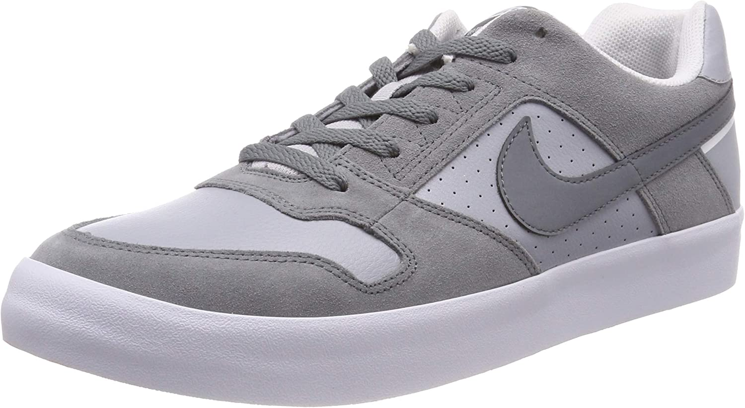 Despertar Latón Organo  Amazon.com: Nike Mens SB Delta Force Vulc Cool Grey Wolf Grey White Size  14: Sports & Outdoors