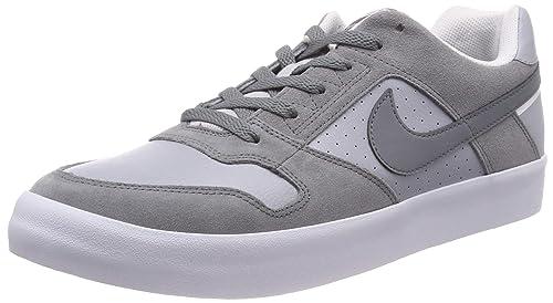 606aa3e7 Nike SB Delta Force Vulc Skate, Zapatillas de Skateboard para Hombre, Gris  Cool Wolf Grey/White 001, 45.5 EU: Amazon.es: Zapatos y complementos