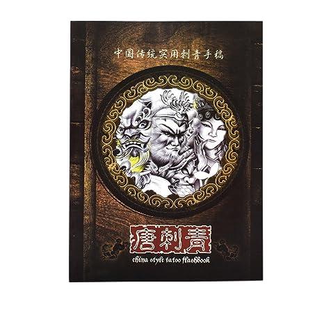 Homyl Libro de Referencia de Tatuaje - Libro de Diseño de Arte ...