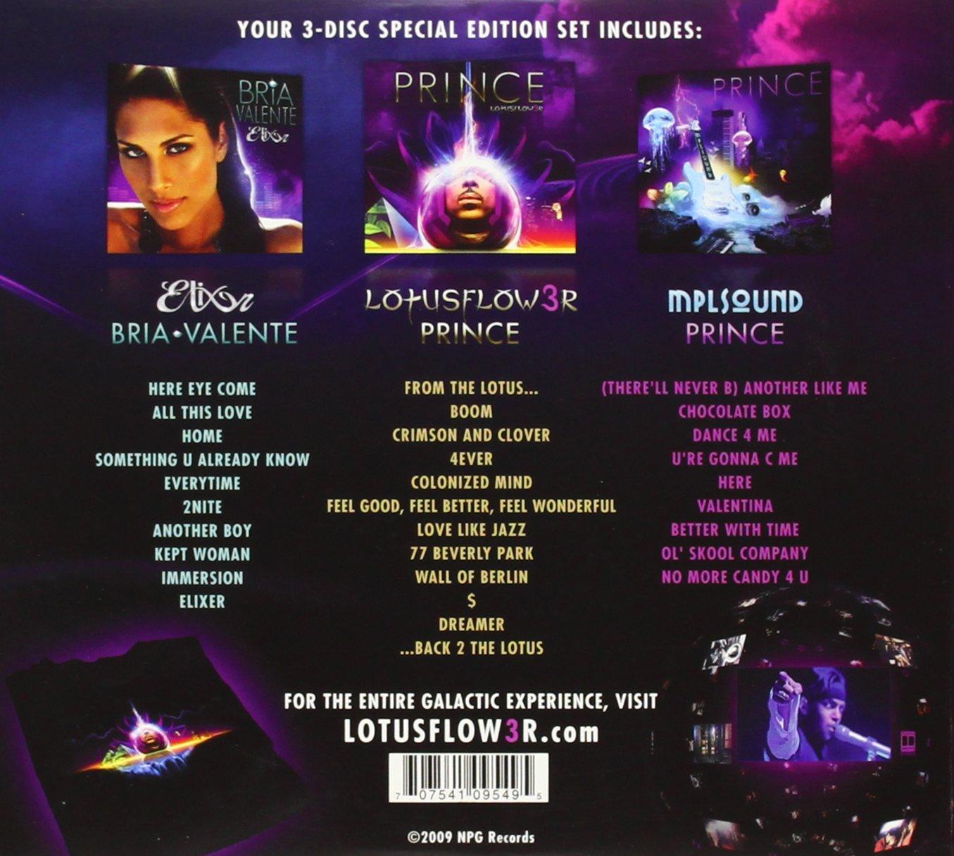 Prince Lotusflow3r Amazoncom Music