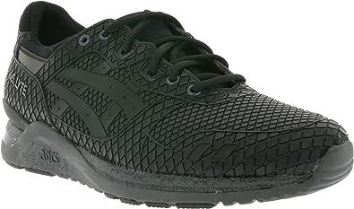 Asics - Zapatillas de Running para Hombre Negro Blk Dark Grey ...