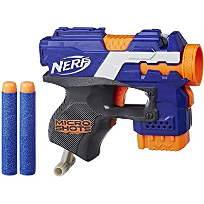 NERF Microshots Blaster and Combats Assortment: Toys & Games