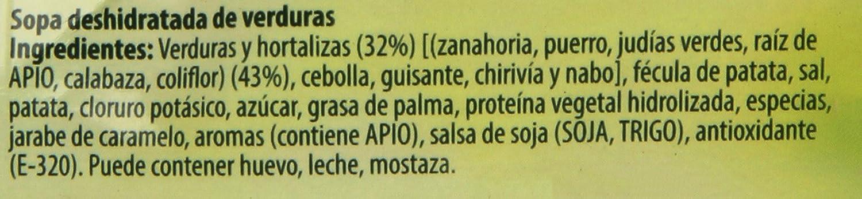 Knorr Sopa Deshidratada Doce Verduras - 41 gr: Amazon.es ...