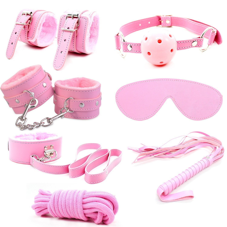 2018 New 7 Pcs Premium PU Faux Leather Pink