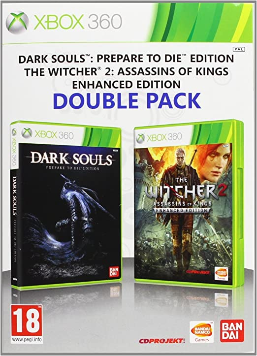 Double Pack 360: The Witcher 2 Enhanced Edition + Dark Souls ...