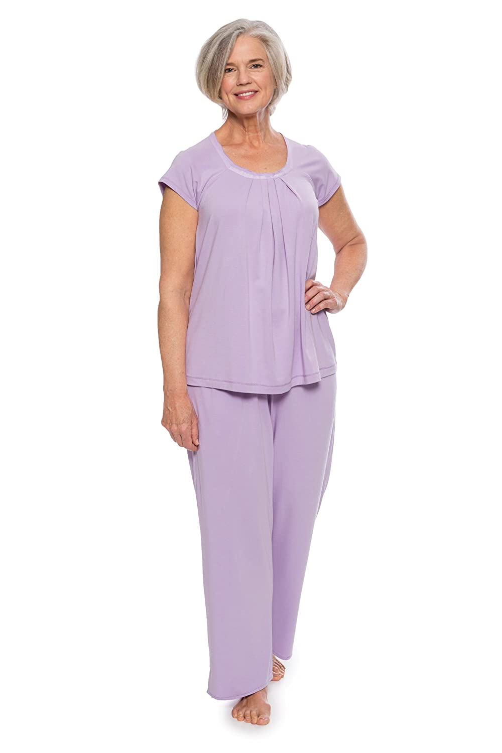Women's Bamboo Pajama Sleep Set (Bamboo Bliss) Eco-Friendly Gifts