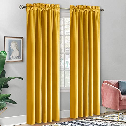 BGment Soft Velvet Curtain