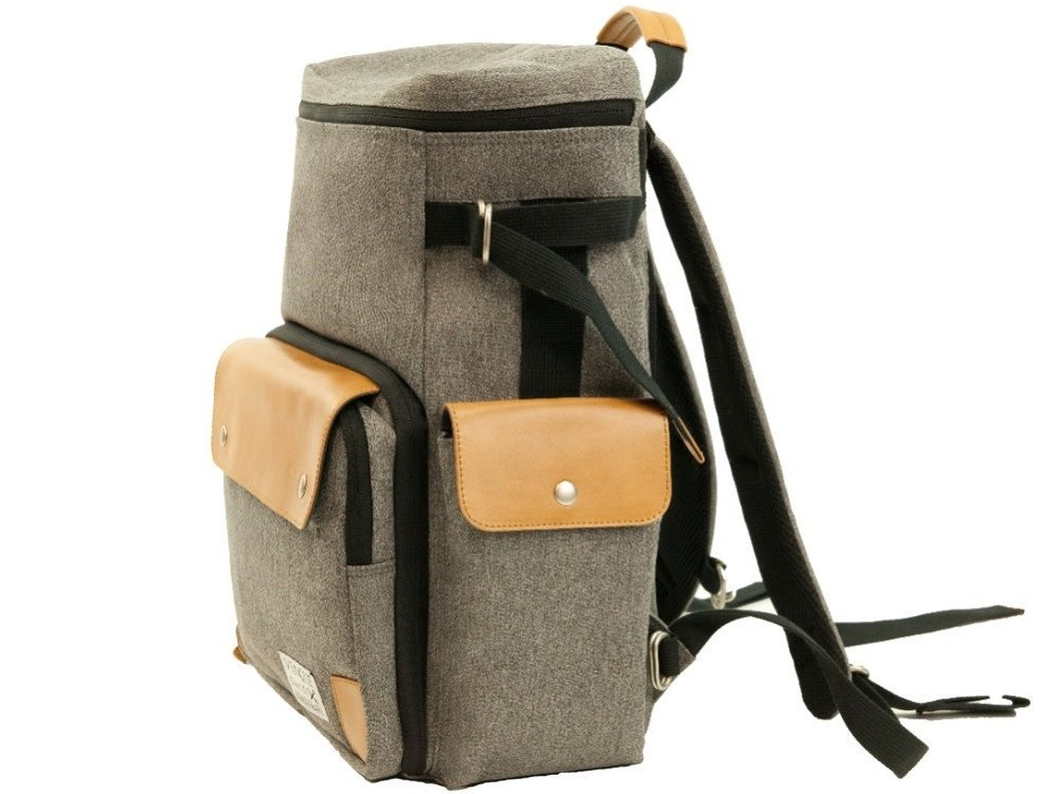 Venque Craft Co. CamPro Camera Backpack (Grey) by Venque Craft Co. (Image #2)
