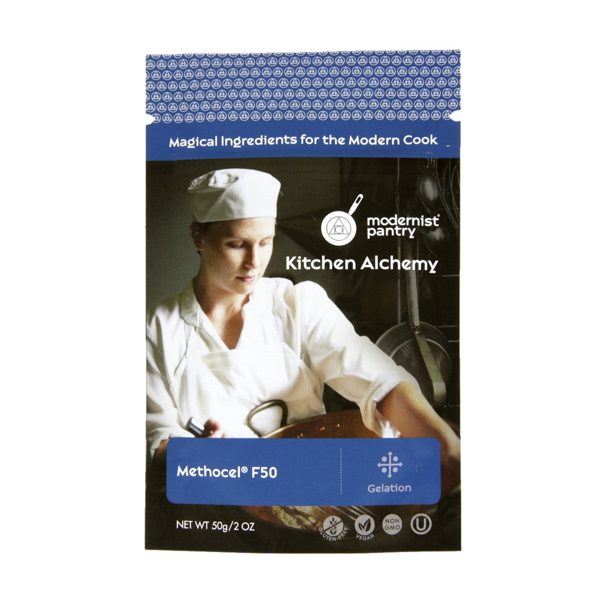 Hydroxypropyl Methylcellulose - Methocel F50 (Molecular Gastronomy) ⊘ Non-GMO ☮ Vegan ✡ OU Kosher Certified - 50g/2oz