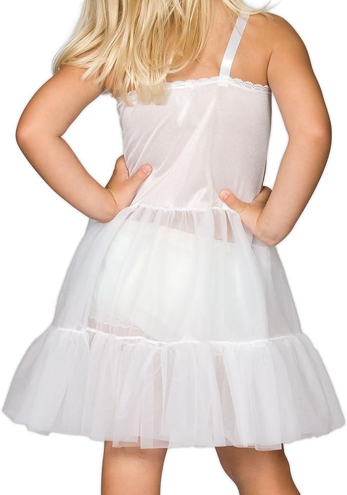 I.C 6m 24m Collections Baby Girls White Bouffant Slip Petticoat