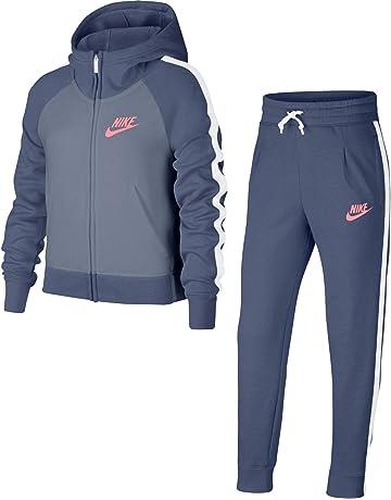 Nike G NSW TRK PE Survêtement Fille f51221f82f1