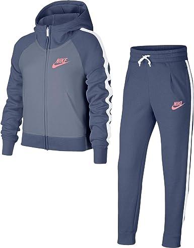 Nike G NSW TRK PE Chándal, Niñas: Amazon.es: Ropa y accesorios