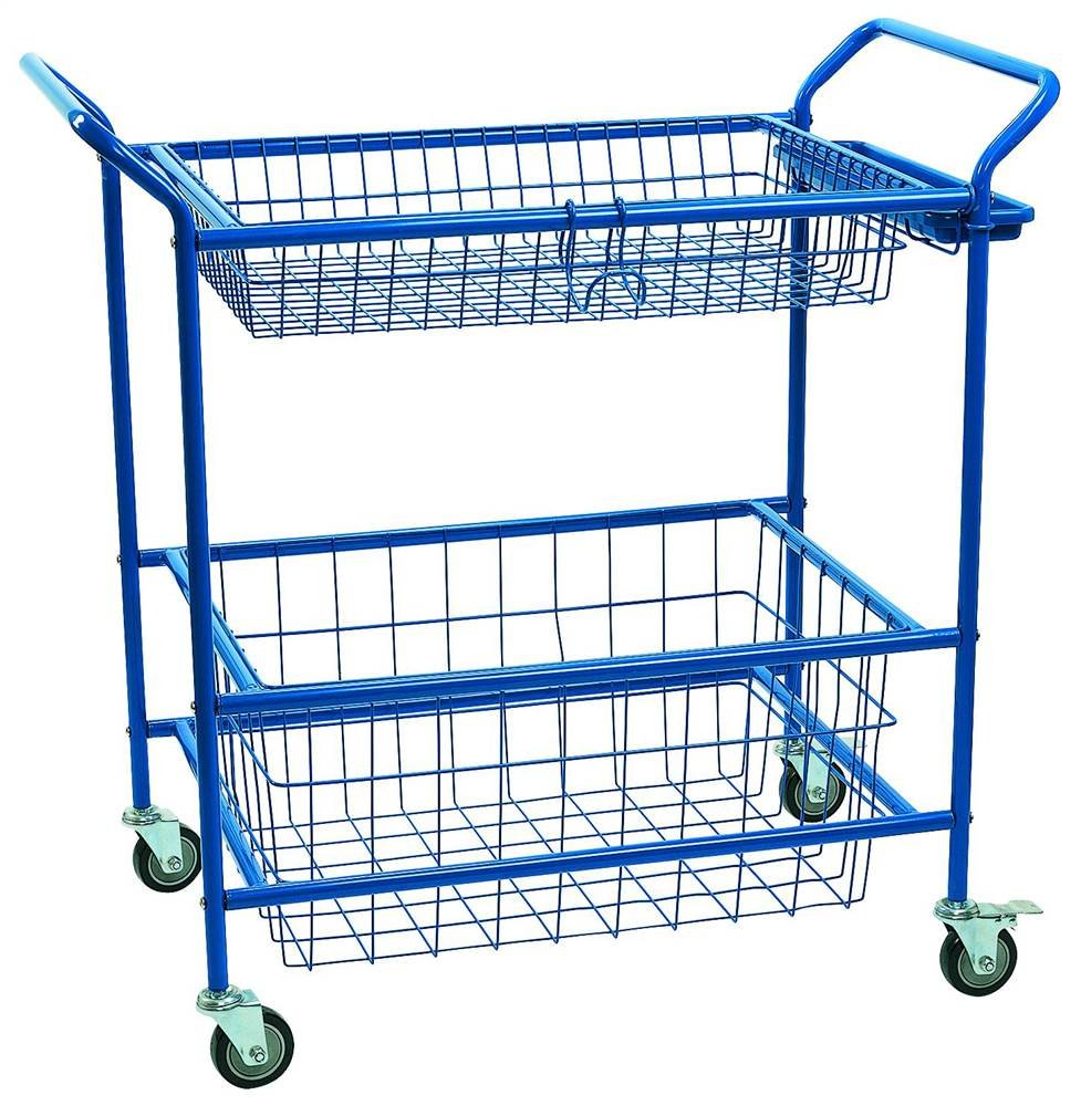 Angeles AFB7910 Activity Cart, 45'' Height, 25'' Length, 46'' Width